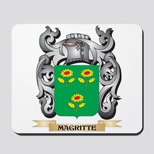 Magritte Coat of Arms - Family Crest Mousepad