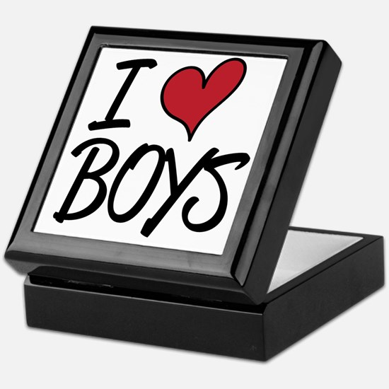 Iheartboys Keepsake Box