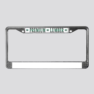 back License Plate Frame
