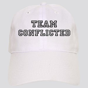 CONFLICTED is my lucky charm Cap