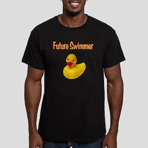 Future_Swimmer Men's Fitted T-Shirt (dark)