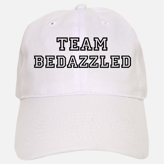 Team BEDAZZLED Baseball Baseball Cap