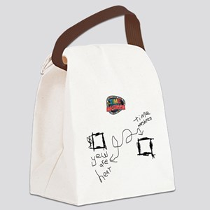 time-masheen Canvas Lunch Bag