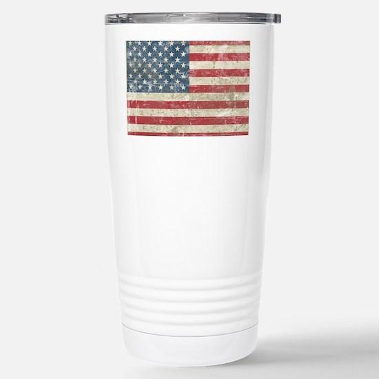 vintageAmerica4Pillow Stainless Steel Travel Mug