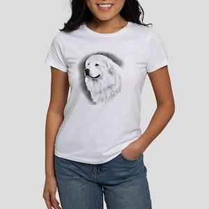Great Pyr Charcoal Portrait Women's T-Shirt