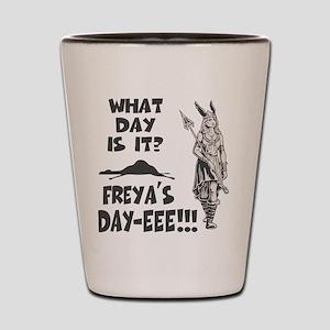 Freya's Day Shot Glass
