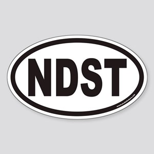 NDST Euro Oval Sticker
