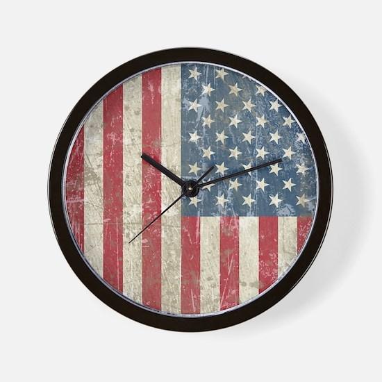 vintageAmerica4Twin Wall Clock