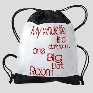 dark room 1 Drawstring Bag