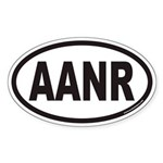 AANR Euro Oval Sticker