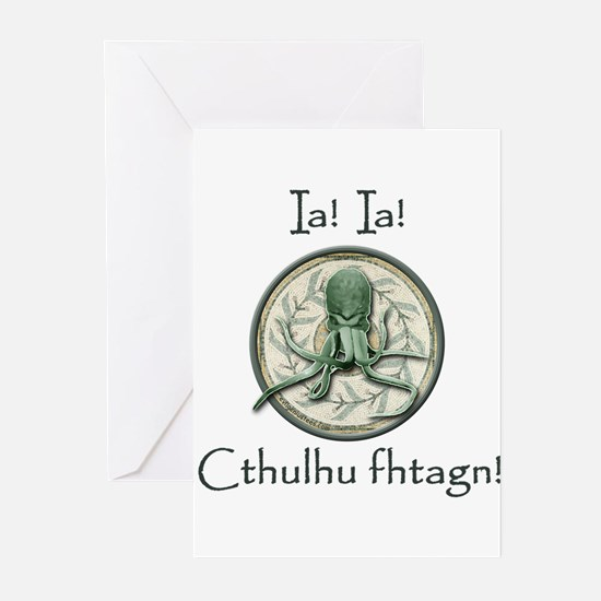 Cthulhu waits Greeting Cards (Pk of 10)