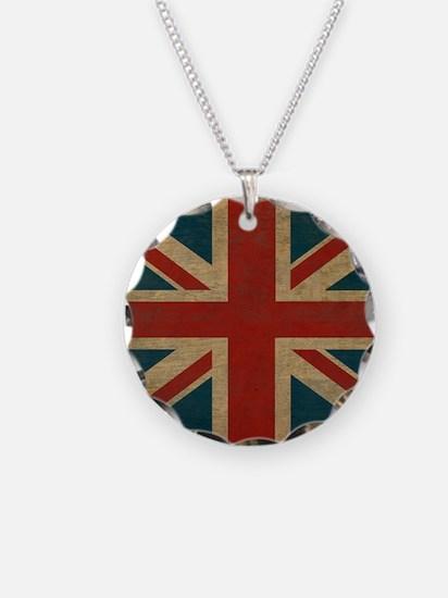 UnionJack9Blanket Necklace