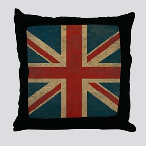 UnionJack9Blanket Throw Pillow