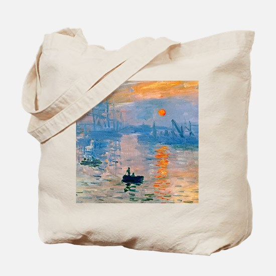iPadS Monet Sunrise Tote Bag