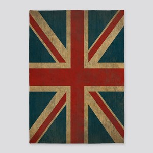 UnionJack9Twin1 5'x7'Area Rug