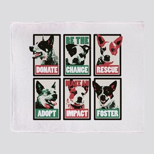 Be The Change Throw Blanket (2 Sides)