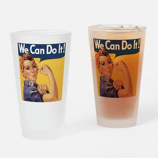 rosie4SC Drinking Glass
