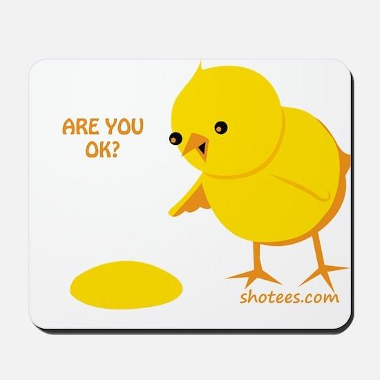 Are you ok? Mousepad