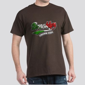 Brown Brooklyn Italian Style T-Shirt