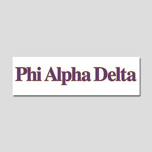 Phi Alpha Delta Car Magnet 10 x 3