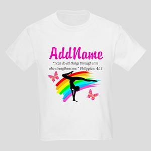 BLESSED GYMNAST Kids Light T-Shirt