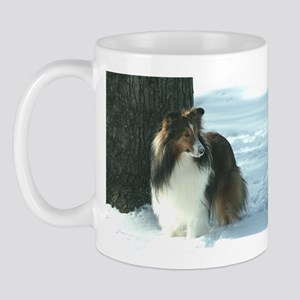 Winter Day Sheltie Mug