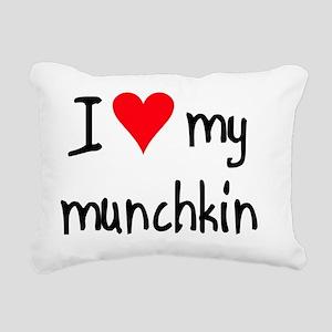 iheartmunchkin Rectangular Canvas Pillow
