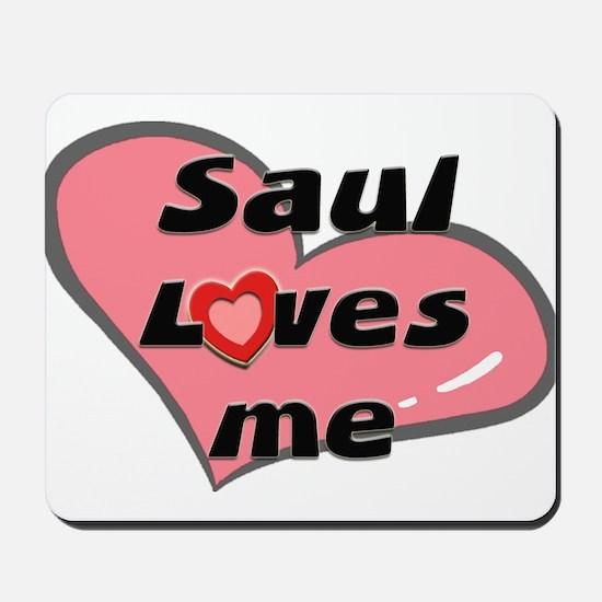 saul loves me  Mousepad