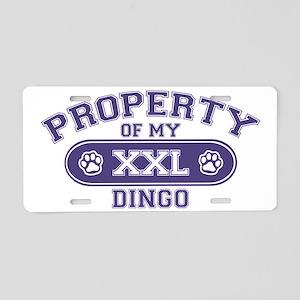 dingoproperty Aluminum License Plate