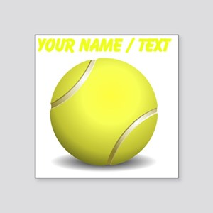 Custom Tennis Ball Sticker