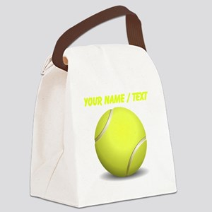 Custom Tennis Ball Canvas Lunch Bag