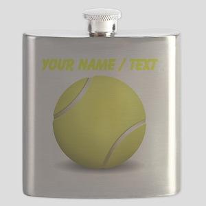 Custom Tennis Ball Flask