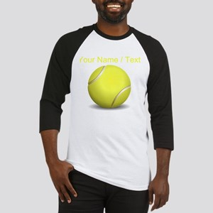 Custom Tennis Ball Baseball Jersey