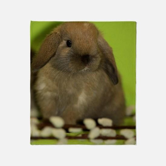 bunny_9 Throw Blanket