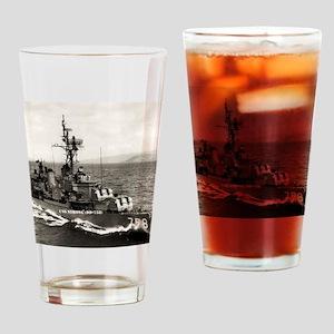 strong framed panel print Drinking Glass