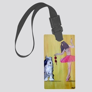 Beauty and the Beast. Large Luggage Tag