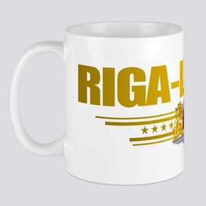 Riga (Flag 10) pocket 2 Mug