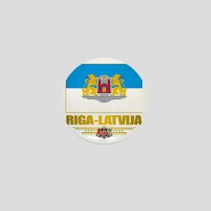 Riga (Flag 10)2 Mini Button