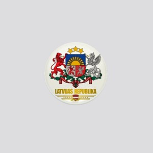 Latvia COA (Flag 10)2 Mini Button