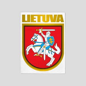 Lithuania COA 2 5'x7'Area Rug