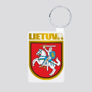 Lithuania COA 2 Aluminum Photo Keychain