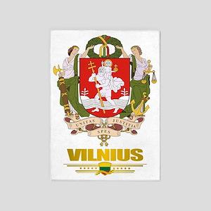 Vilnius COA (Flag 10)2 5'x7'Area Rug