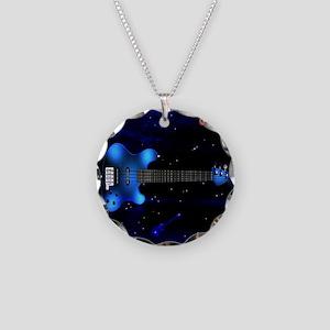 bigbluebass Necklace Circle Charm