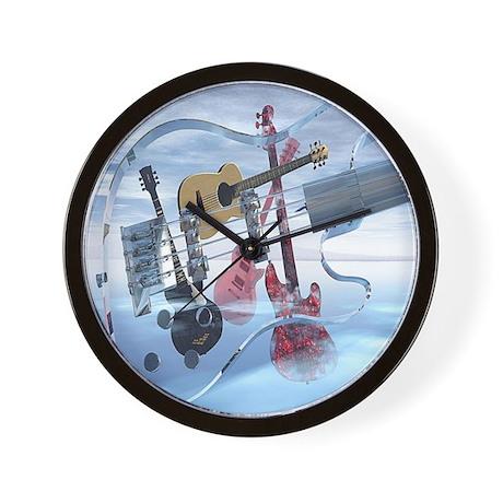 GlassBass Wall Clock
