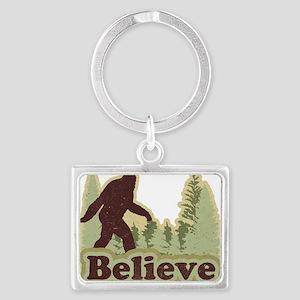 believe Landscape Keychain