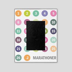 Marathoner Numbers Pastels Picture Frame