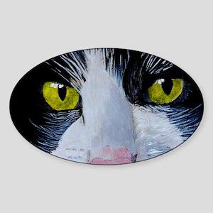 tuxframe Sticker (Oval)