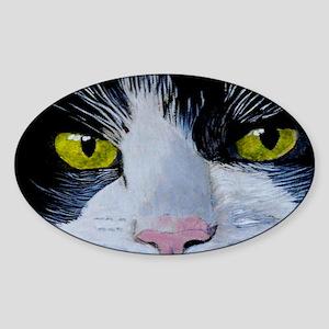 tuxmini Sticker (Oval)