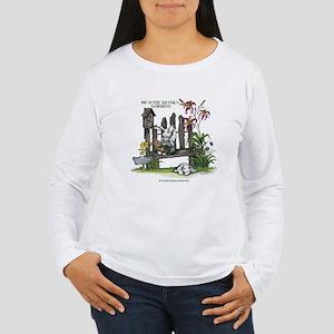 Ric-A-Tee Daylilies Women's Long Sleeve T-Shirt