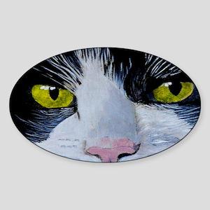 tuxclutch Sticker (Oval)